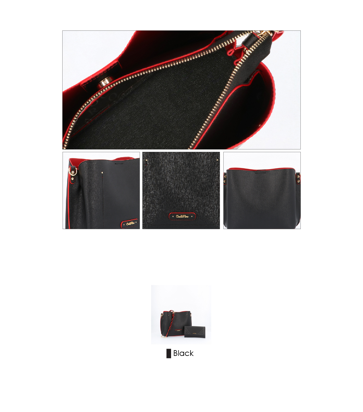 0303355 016 08 03 - Smooth Carrier 2-in-1 Bag and Wallet Set