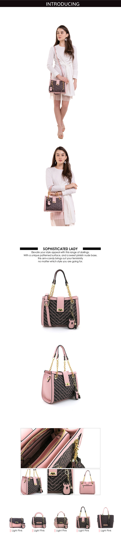 0304600E 004 34 - Woo-Hoot Golden Chain Shoulder Bag