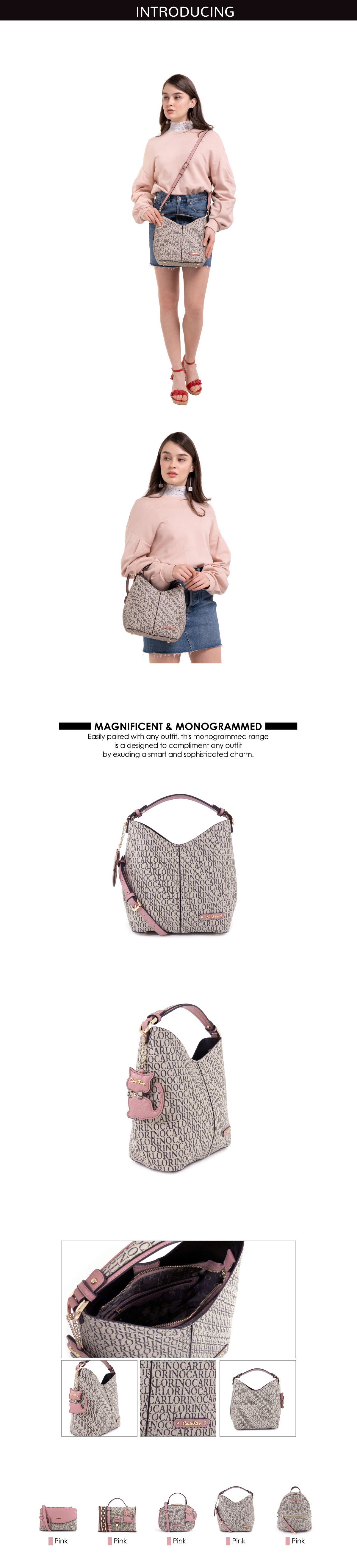 0304679E 004 24 - Kitty Charmed Top Handle Bucket Bag