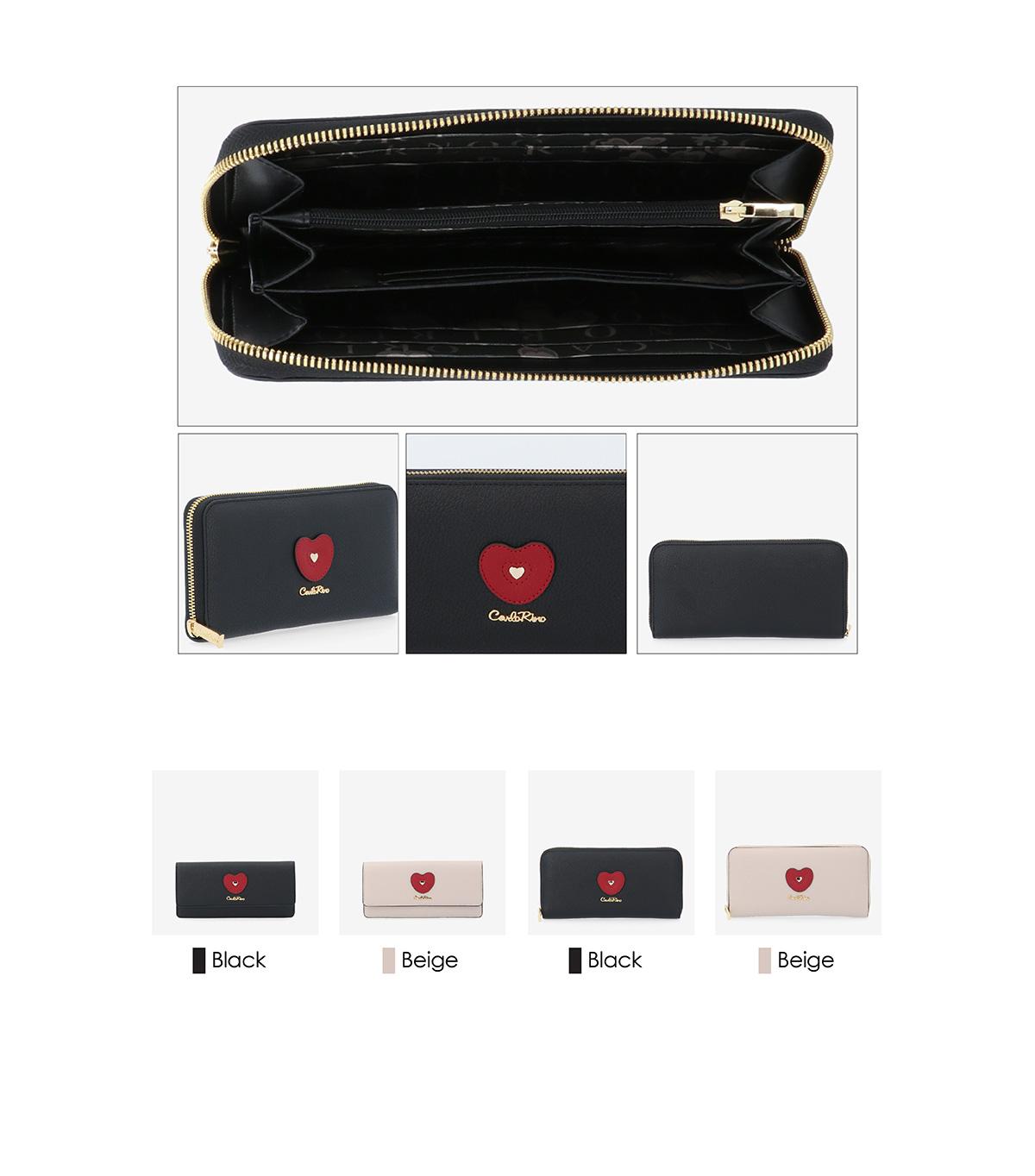 0304794H 503 03 - Queen of Hearts Zip-around Wallet