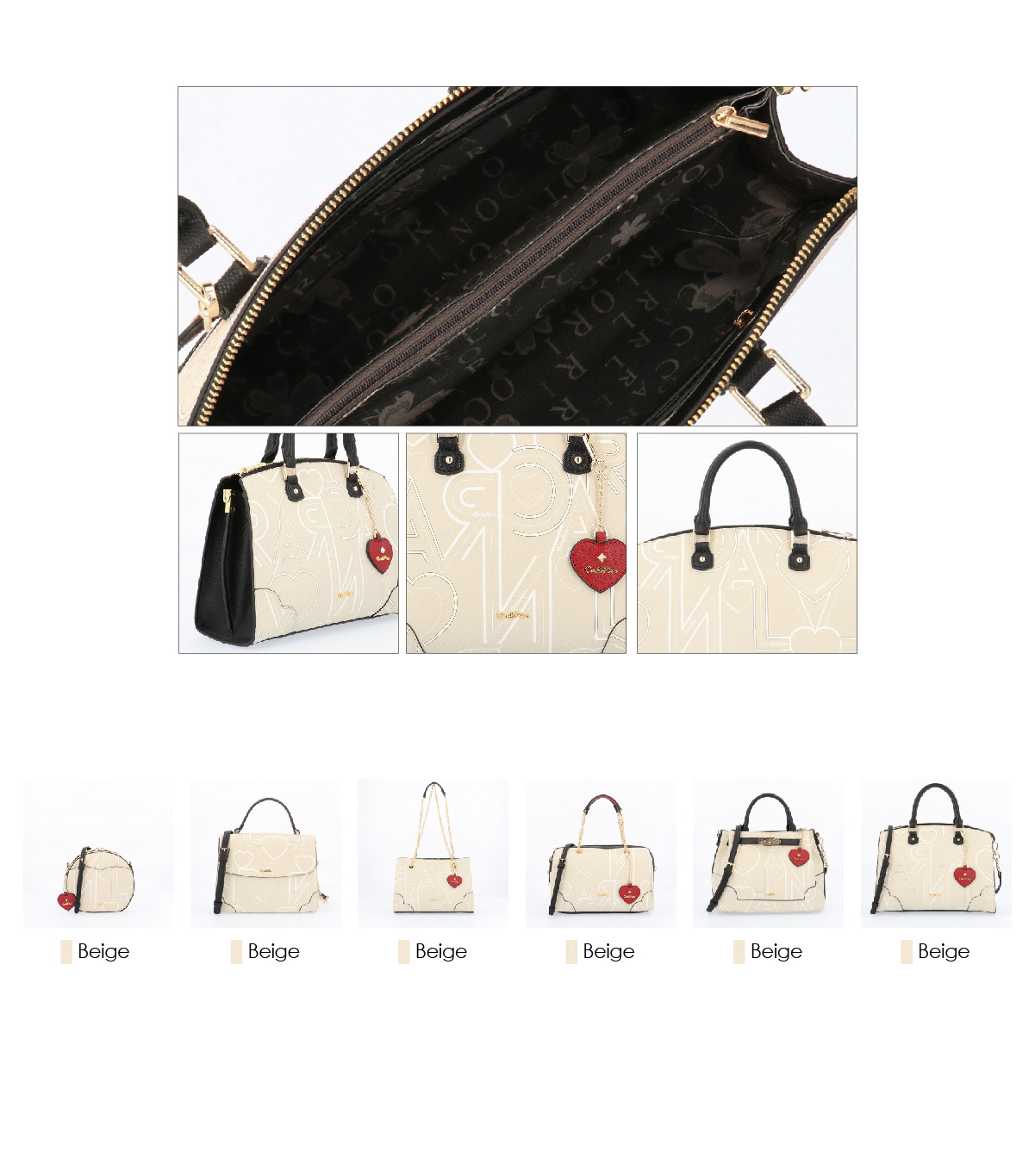 0304807G 006 21 03 - Love is in the Air Top Handle Tote
