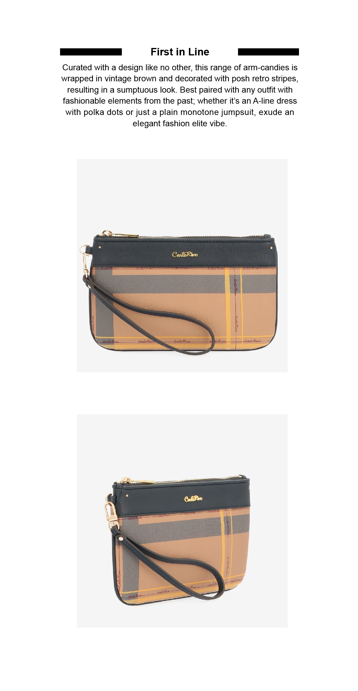 0304828H 702 13 02 - First in Line Wristlet