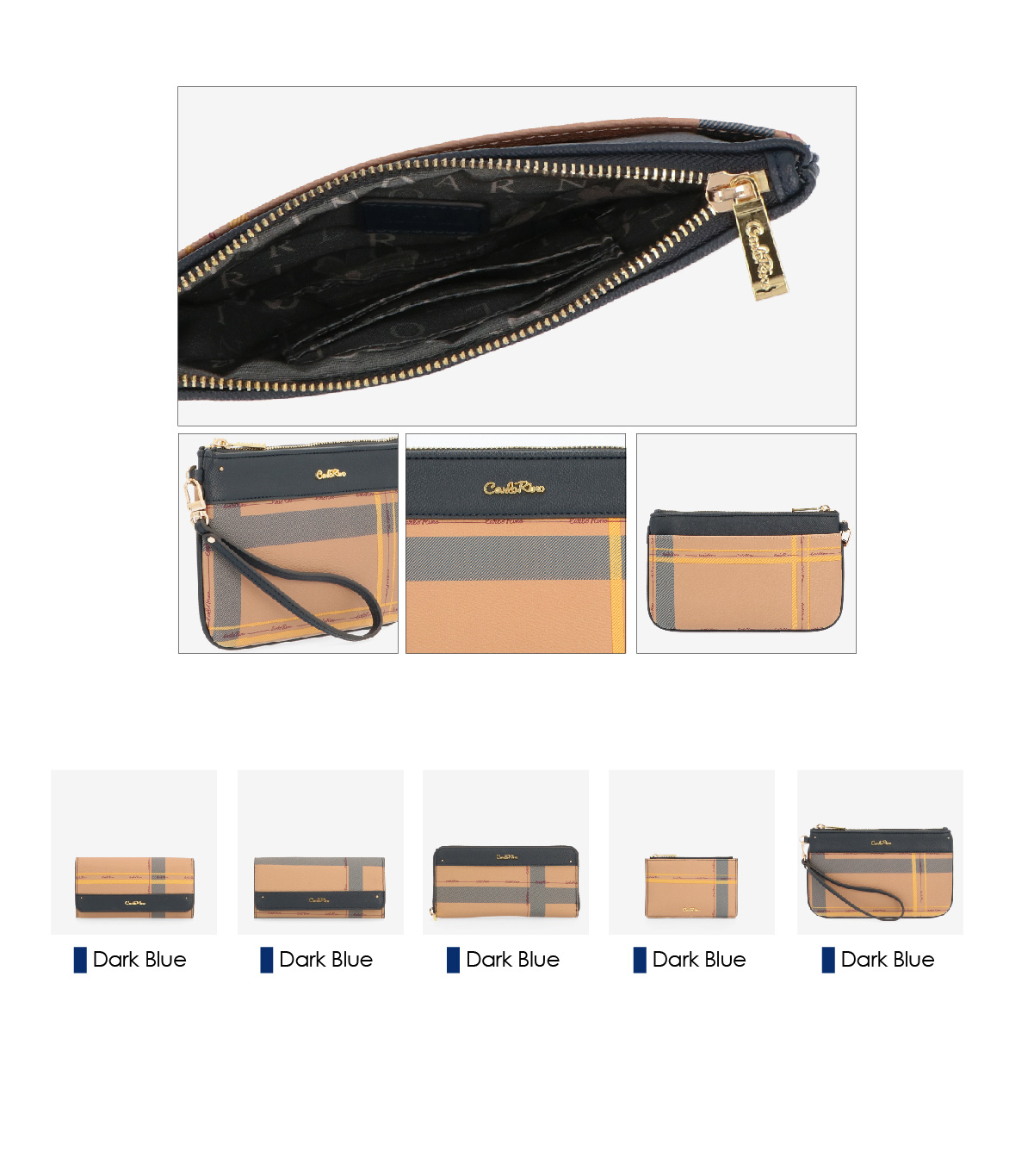 0304828H 702 13 03 - First in Line Wristlet