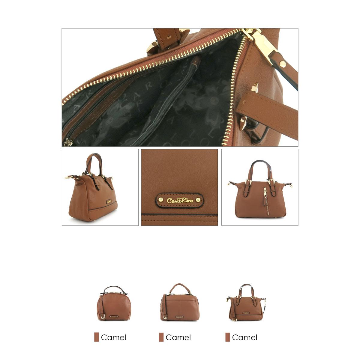 0304875F 003 35 03 - Leather Bash Hobo Top Handle
