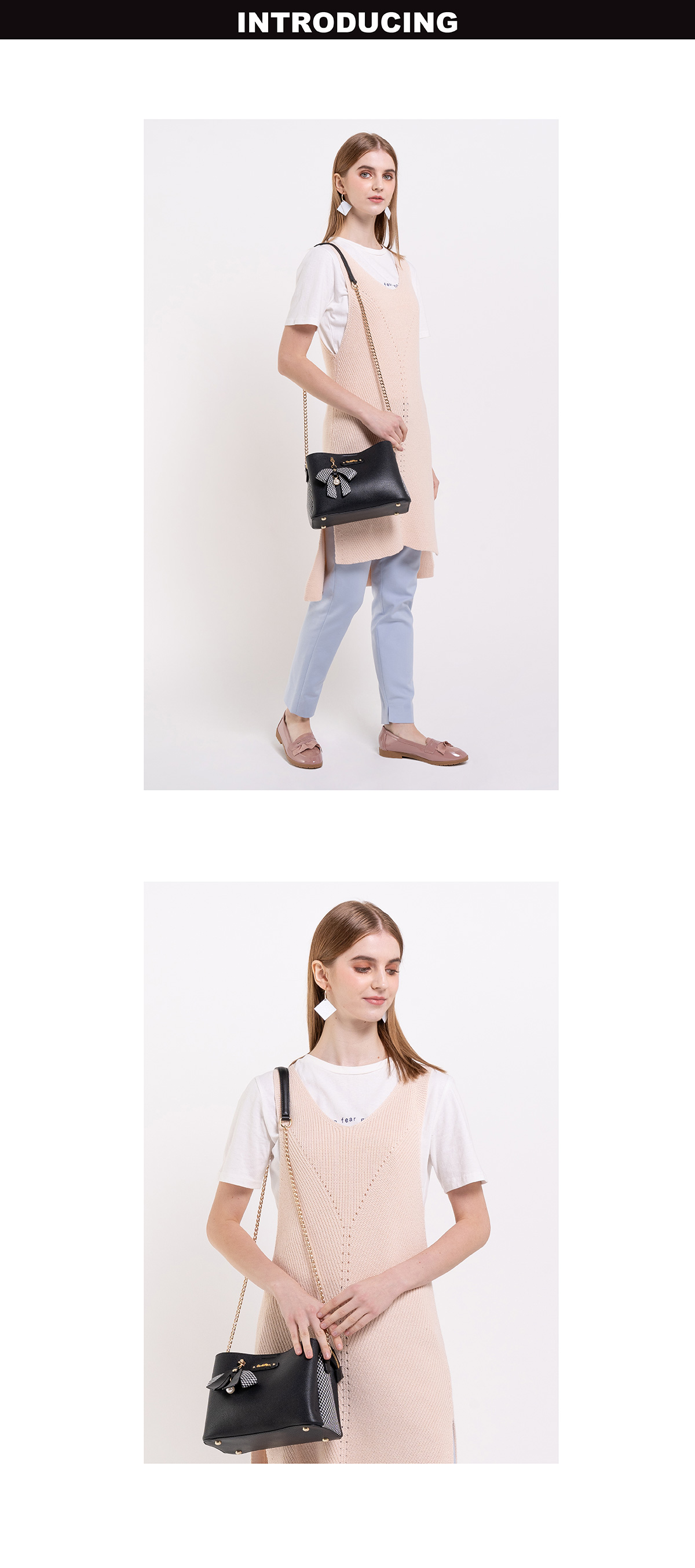 0304924G 001 08 01 - What a Mesh Chain Link Cross Body