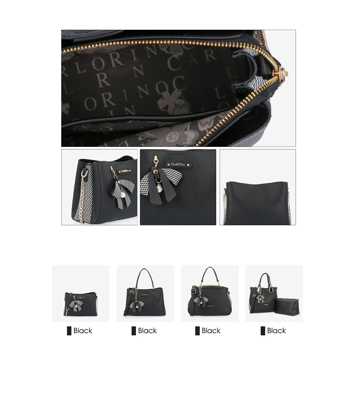 0304924G 001 08 03 - What a Mesh Chain Link Cross Body