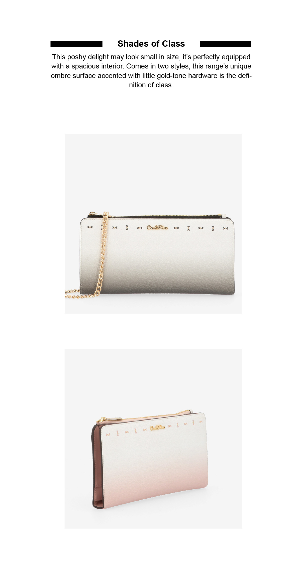 0304931H 501 02 - Shades of Class Cross Body Wallet