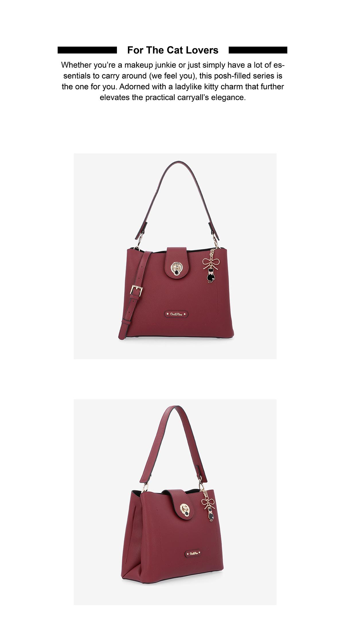 0305015H 001 02 - For The Cat Lovers Shoulder Bag