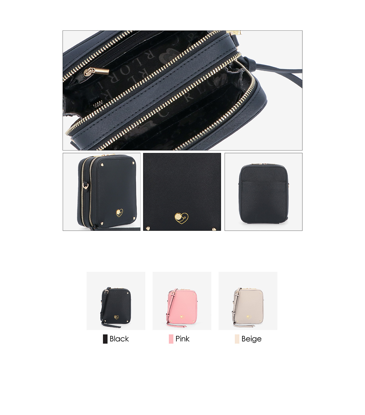 0305027J 001 03 - Wardrobe Sweetheart 2-fold Wallet