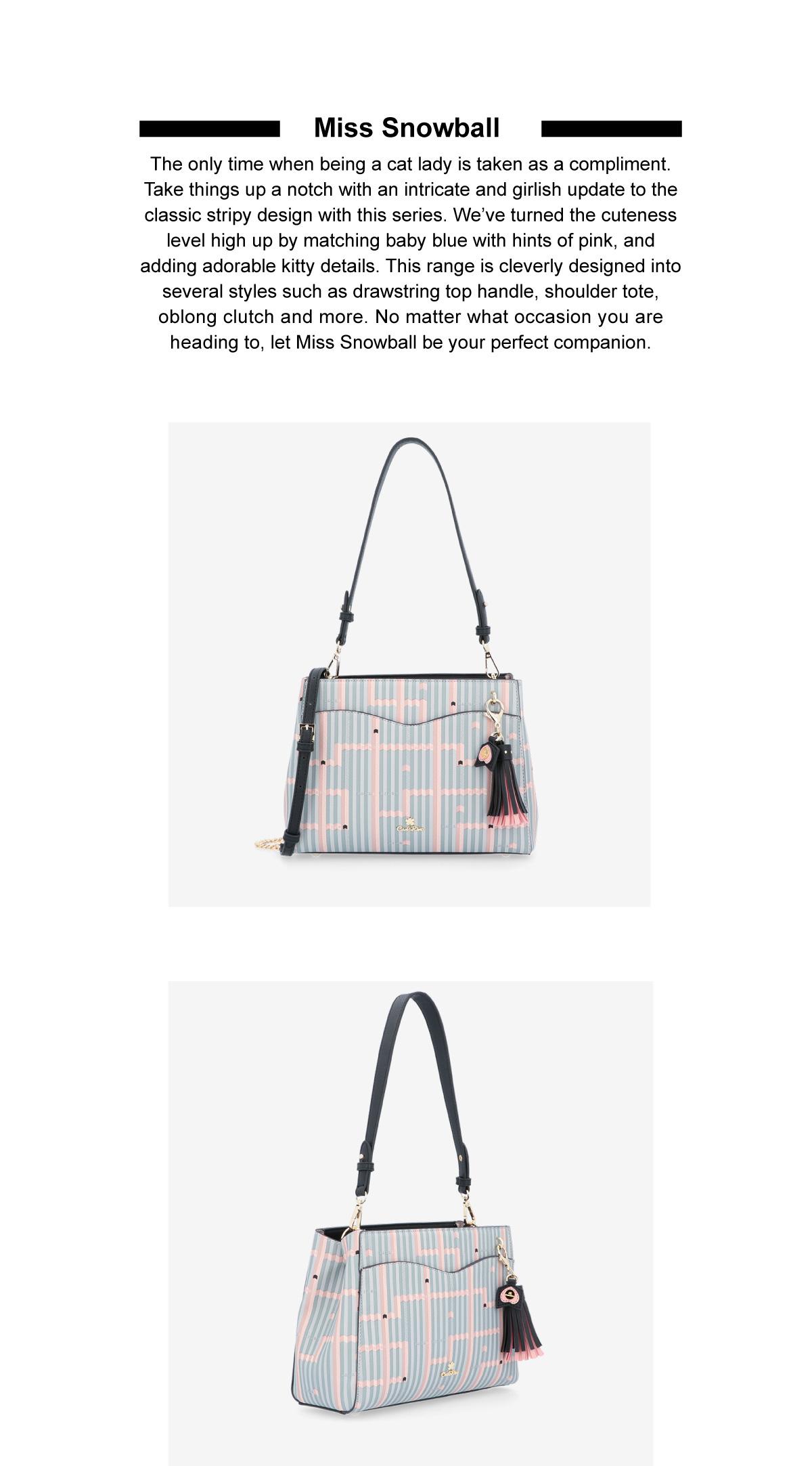0305028J 004 02 - Miss Snowball Shoulder Bag