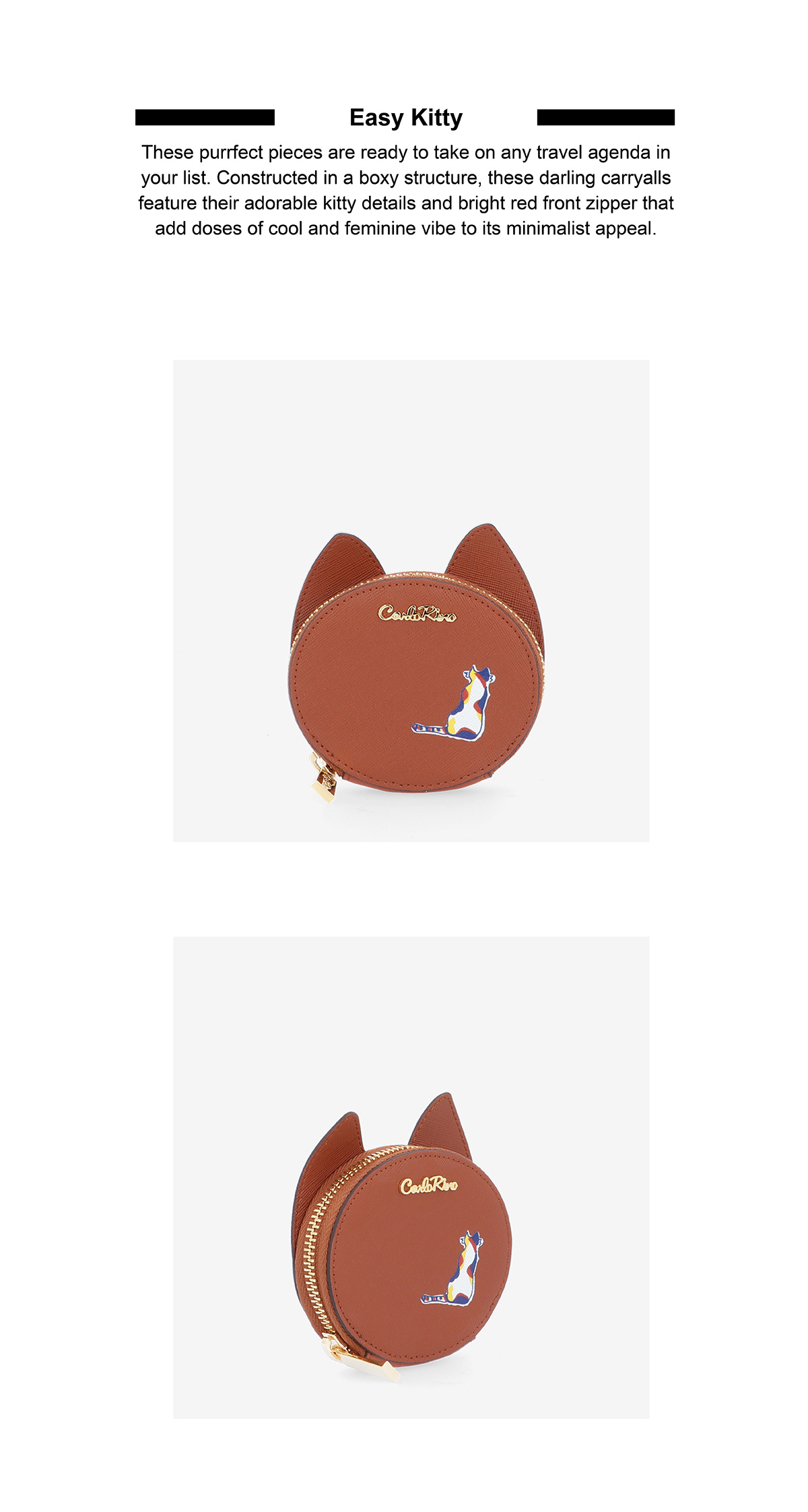 0305030J 701 05 02 - Easy Kitty Coin Pouch