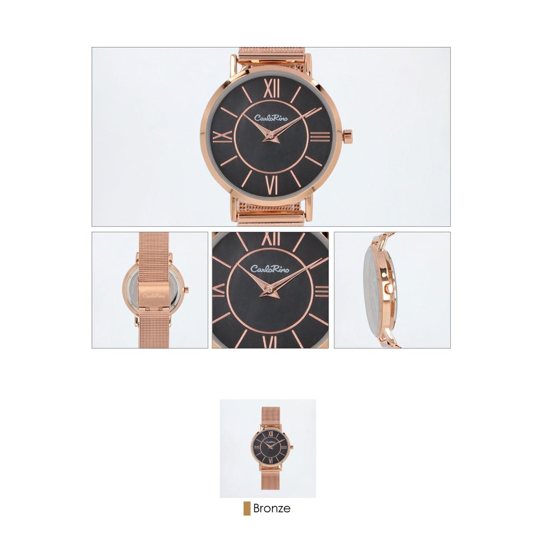 A93301 G007 32 03 - Roman Indulgence Mesh Band Timepiece