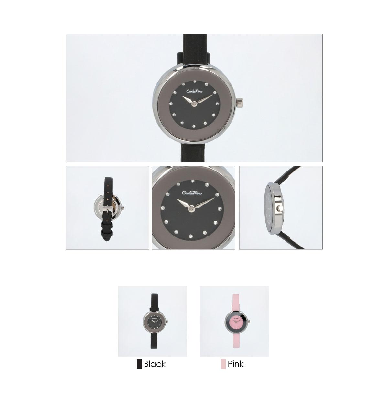 A93301 G012 08 03 - Ticking Luxury Satin Strap Timepiece