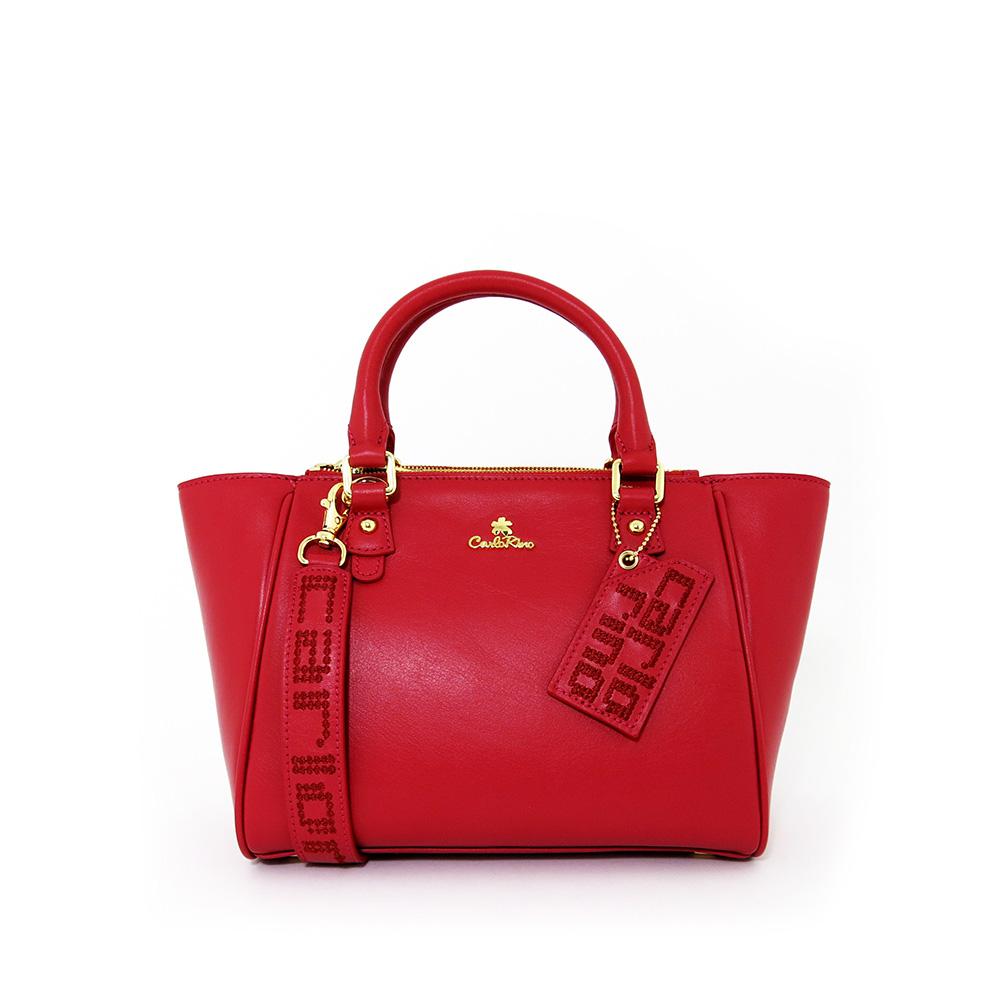 carlorino bag 0303625 201 04 1 - Monotone Serena Top Handle