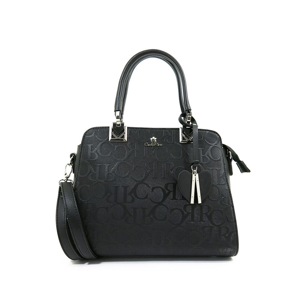 carlorino bag 0304247B 002 08 1 - My Cool Bag Monogrammed Pyramid Top Handle