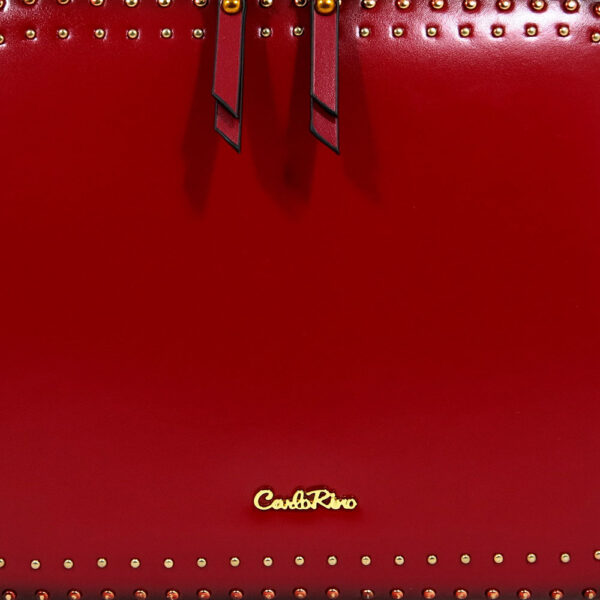 carlorino bag 0304478C 003 04 5 - Short Cubic Zip-around Cross Body