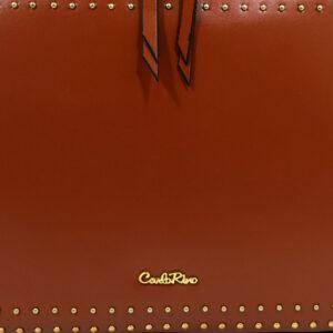 carlorino bag 0304478C 003 05 5 - Short Cubic Zip-around Cross Body