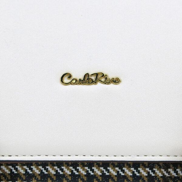 carlorino bag 0304488C 004 21 5 600x600 - Oxford Houndstooth Print Backpack