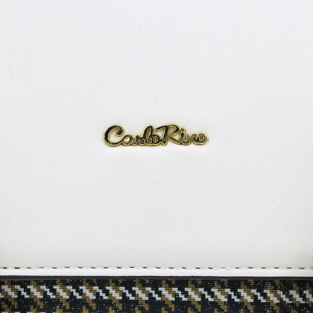carlorino bag 0304488C 004 21 5 - Oxford Houndstooth Print Backpack
