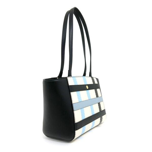 carlorino bag 0304532F 002 08 3 - Checkered-mate Shoulder Tote