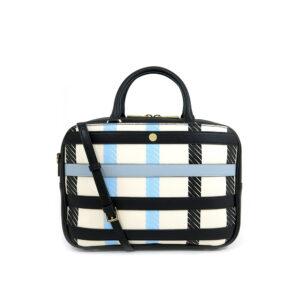 carlorino bag 0304532F 003 08 1 300x300 - Checkered-mate Shoulder Tote