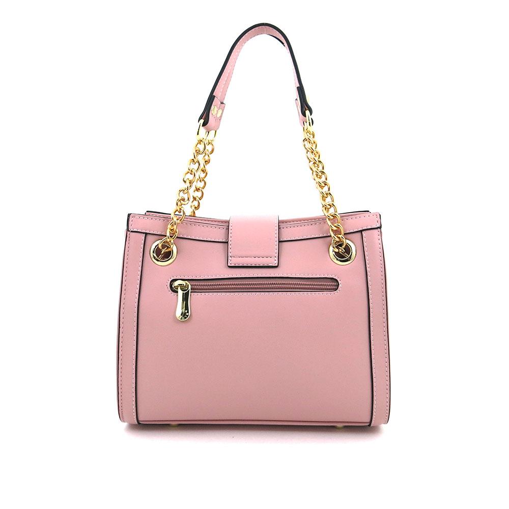 carlorino bag 0304600E 004 34 2 - Woo-Hoot Golden Chain Shoulder Bag