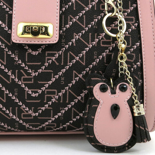 carlorino bag 0304600E 004 34 5 600x600 - Woo-Hoot Golden Chain Shoulder Bag