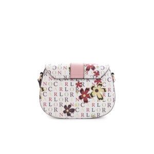 carlorino bag 0304617D 001 24 2 - Signature Print Saddle Bag