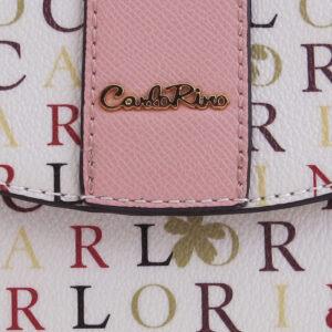 carlorino bag 0304617D 001 24 5 - Signature Print Saddle Bag