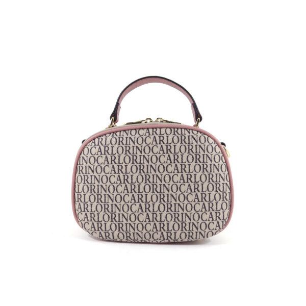carlorino bag 0304679E 003 24 2 - Kitty Charmed Zip-around Top Handle