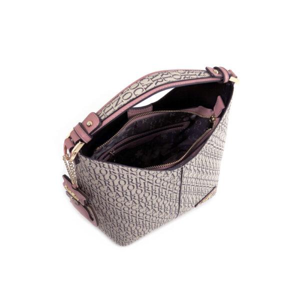carlorino bag 0304679E 004 24 4 600x600 - Kitty Charmed Top Handle Bucket Bag