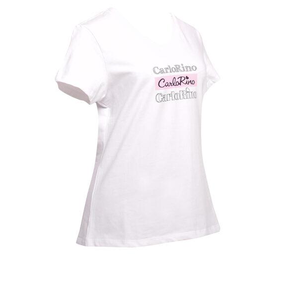 carlorino tshirt 31T001 F001 01 2 - V-neck CR Print Tee