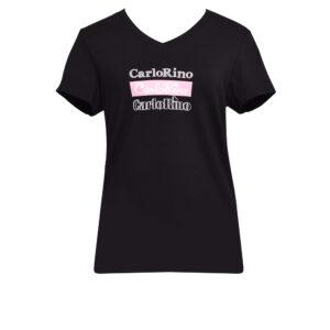 carlorino tshirt 31T001 F001 08 1 300x300 - Round-neck CR Print Tee