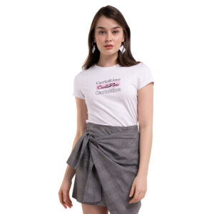 carlorino tshirt 31T001 F002 01 4 - Round-neck CR Print Tee