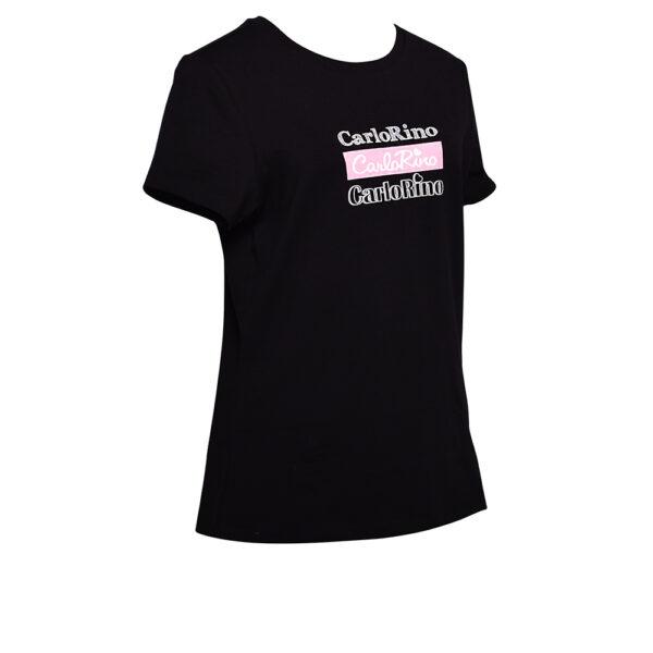 carlorino tshirt 31T001 F002 08 2 - Round-neck CR Print Tee