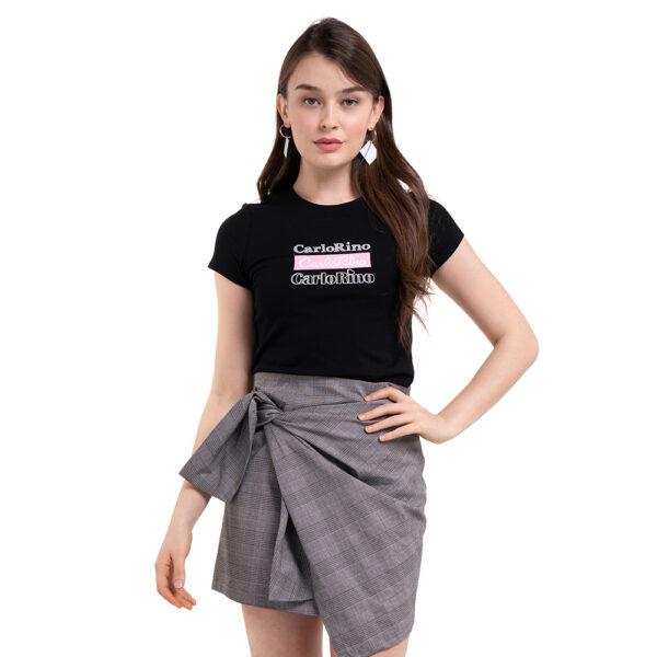 carlorino tshirt 31T001 F002 08 4 - Round-neck CR Print Tee