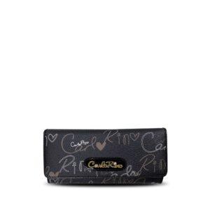 carlorino wallet 0303059 502 08 1 300x300 - Calligraphy Monogram 3-fold Long Wallet