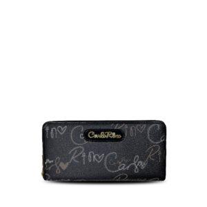 carlorino wallet 0303059 503 08 1 300x300 - Calligraphy Monogram Zip-around Wallet