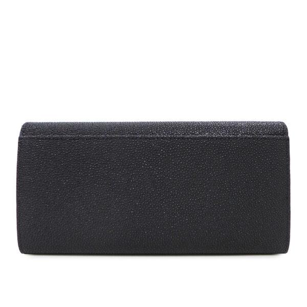 carlorino wallet 0304322A 501 08 2 - Stargaze Glittery 2-fold Long Wallet