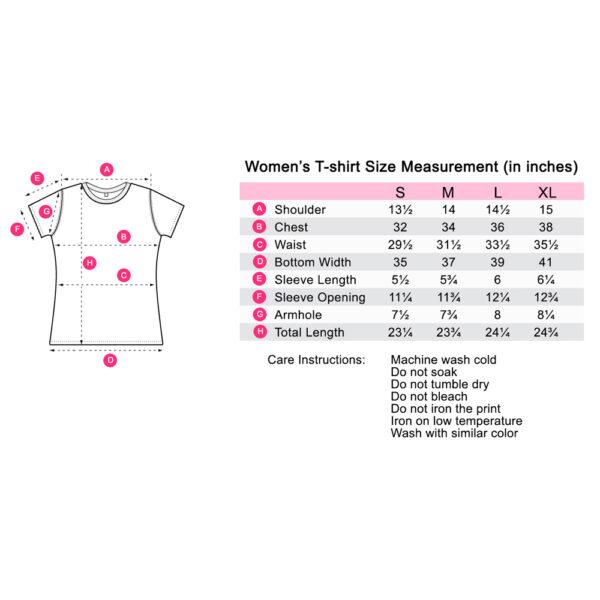 t shirt measurement s - V-neck CR Print Tee