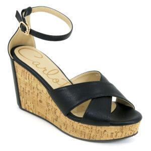 carlorino shoe 33300 E004 08 1 300x300 - Crossed Strap Peep Toe Platform Wedges
