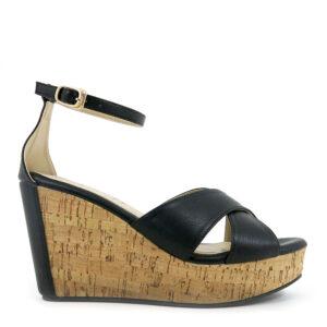 carlorino shoe 33300 E004 08 2 300x300 - Crossed Strap Peep Toe Platform Wedges