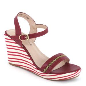 "carlorino shoe 33300 F001 04 1 300x300 - 4"" Stripe Party Platform Wedges"