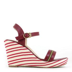 "carlorino shoe 33300 F001 04 2 300x300 - 4"" Stripe Party Platform Wedges"
