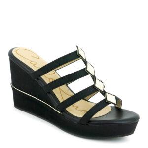 "carlorino shoe 33300 F010 08 1 300x300 - 3.5"" 4-bar Diamond Deco Platform Wedges"