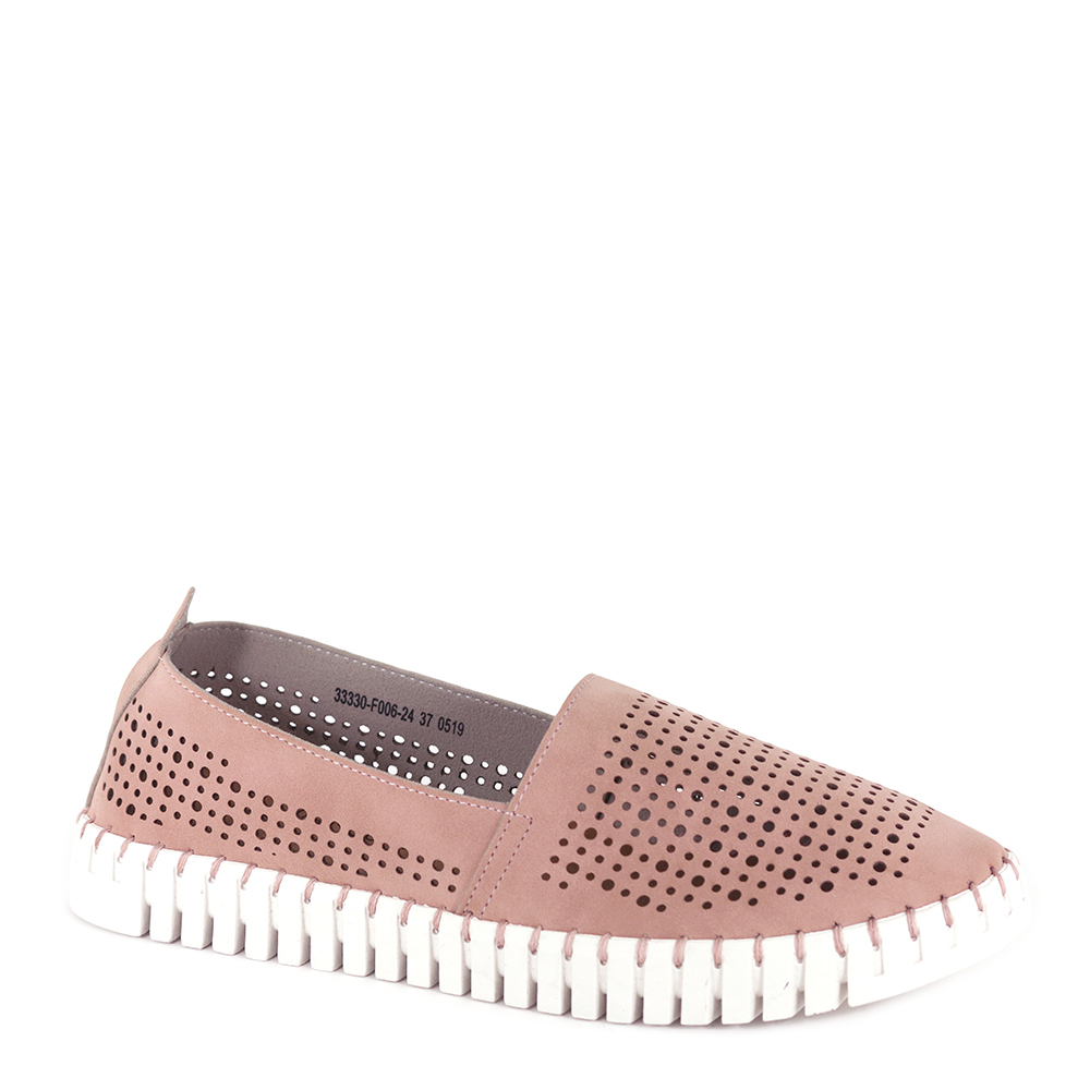 carlorino shoe 33330 F006 24 1 - Holey Moly Loafers with Zig Zag Soles