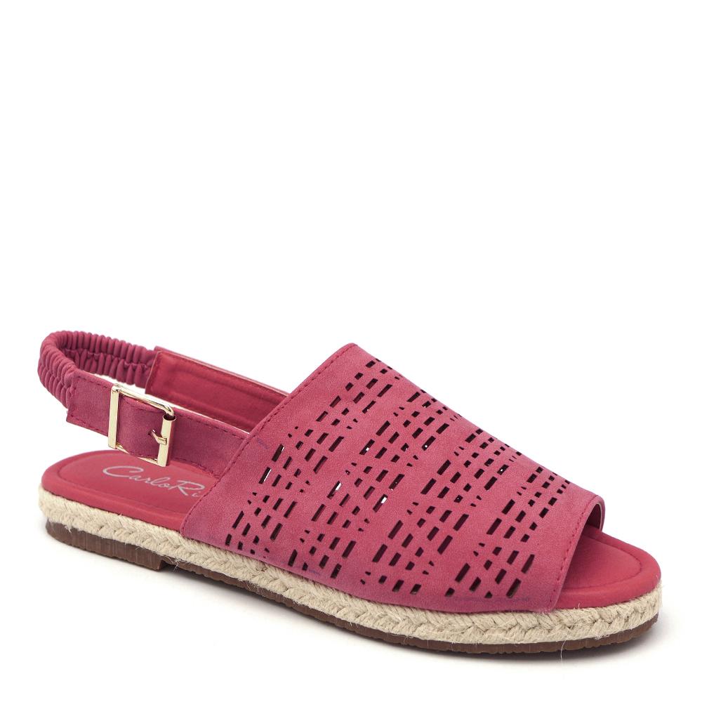 carlorino shoe 33370 D011 04 1 - Comfort Foot Peep Toe Slingback Sandals