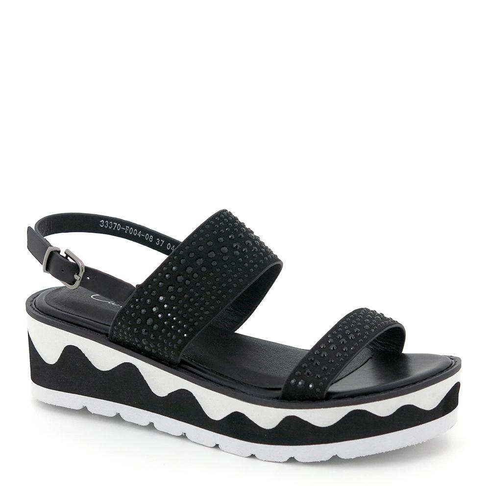 carlorino shoe 33370 F004 08 1 - Timeless Dazzles Studded Slingback Sandals