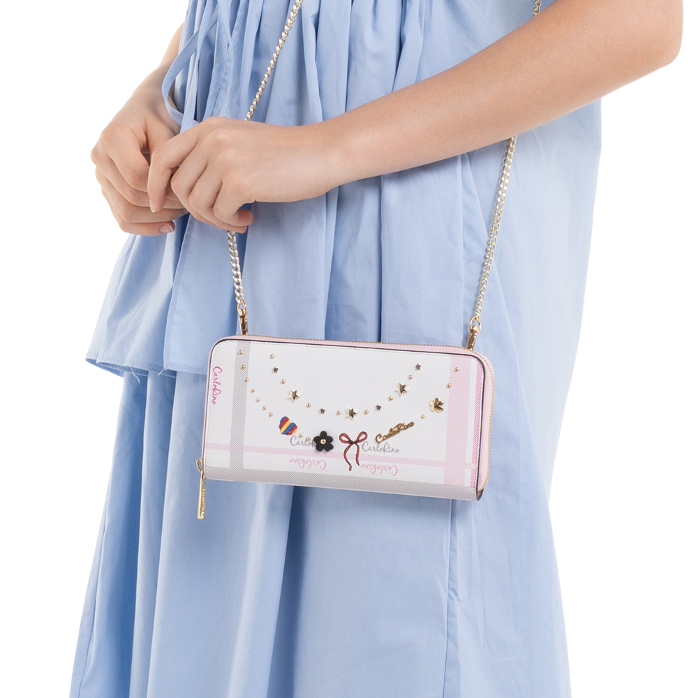 0304740E 501 34 - Embroidered Charmed Series Wallet - Style 1
