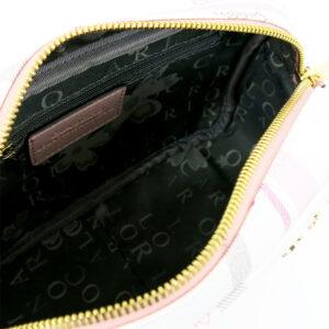 carlorino bag 0304740E 001 34 4 - Embroidered Charmed Series Top Zip Cross Body